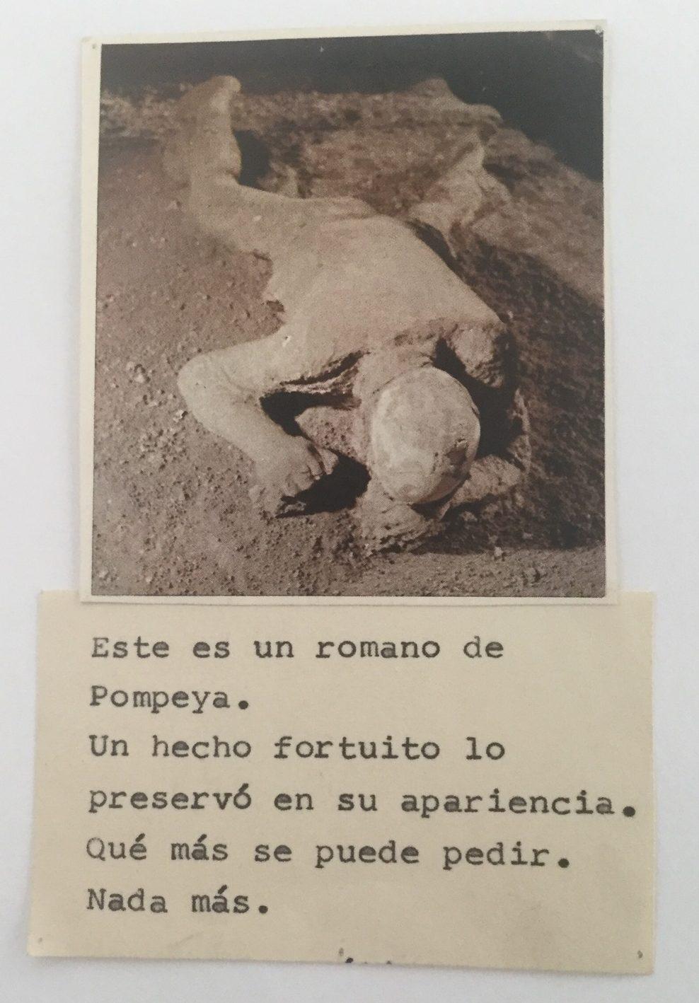 """""""Este es un romano de Pompeya ..."""""""