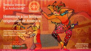 Tertulia Aniversario Flyer