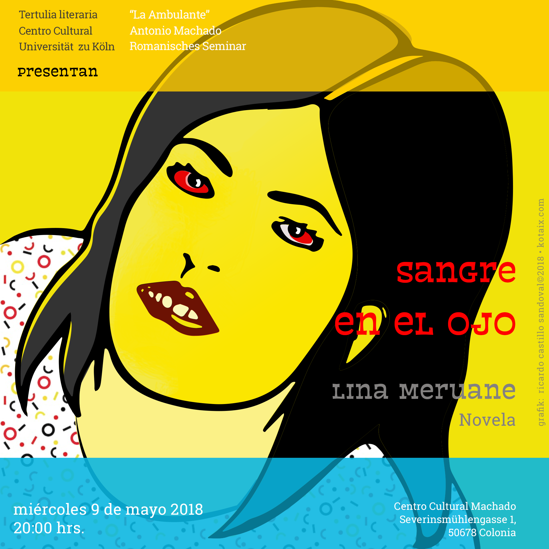 "Lina Meruane, ""Sangre en el ojo"""