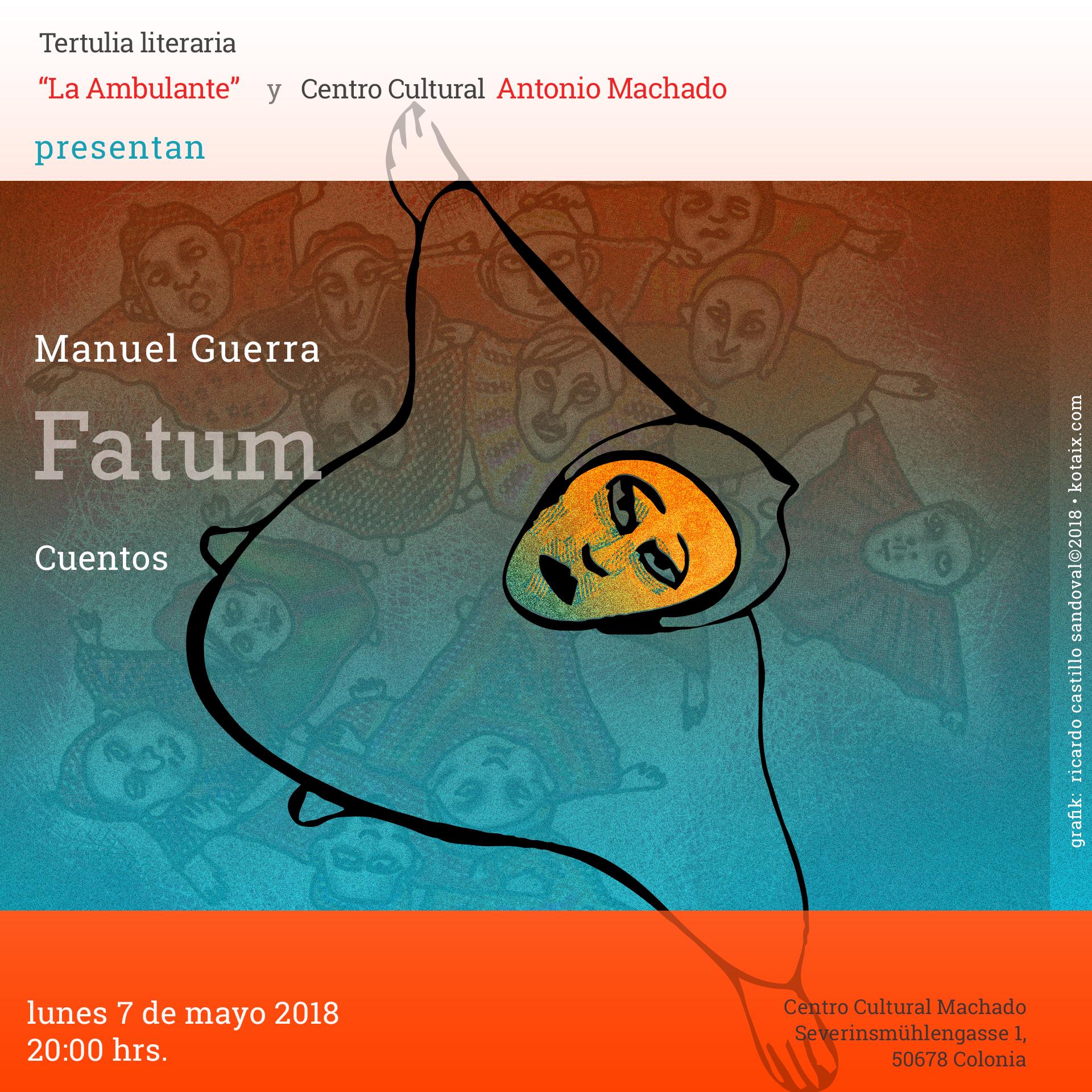 """""""Fatum"""", Manuel Guerra"""